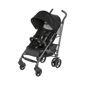 Chicco  Lite Way³ Buggy mit Liegefunktion  jet black
