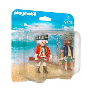 PLAYMOBIL® PIRATES 9446 Duo Pack Pirat und Soldat
