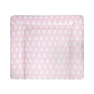 Träumeland Wickelauflage 75x85 cm Krönchen rosa