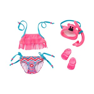 ZAPF BABY BORN Puppen Outfit Deluxe Schwimm Set Play&Fun