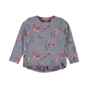 NAME IT  Shirt langarm Dabille Blumen