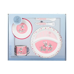 STERNTALER  5tlg. Kindergeschirr-Set  Emmi Girl