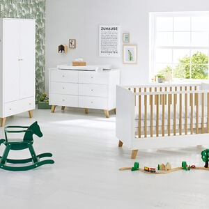 pinolino 3 tlg babyzimmer pan extrabreit online kaufen baby walz. Black Bedroom Furniture Sets. Home Design Ideas