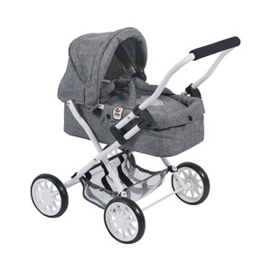 Bayer Chic  Puppenwagen Smarty  jeans/grau