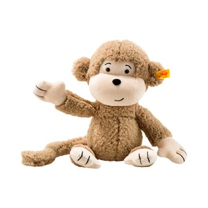 Steiff  Kuscheltier Brownie Affe Soft Cuddly Friends 30cm
