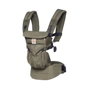ERGOBABY® OMNI 360 Cool Air Babytrage, 4 Tragepositionen  Khaki Green