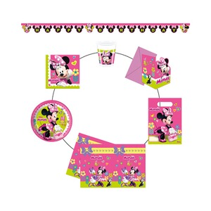 MINNIE MOUSE 50 tlg. Partyset Minnie Mouse