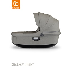 STOKKE®  Tragewanne für Trailz, Crusi  black/brushed grey