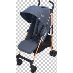MACLAREN  Quest Buggy mit Liegefunktion  Denim Indigo