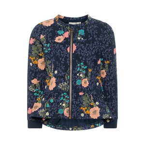 NAME IT  Sweatjacke Blumen