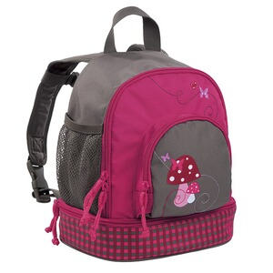 Lässig 4KIDS Kindergartenrucksack Mini Backpack Mushroom magenta
