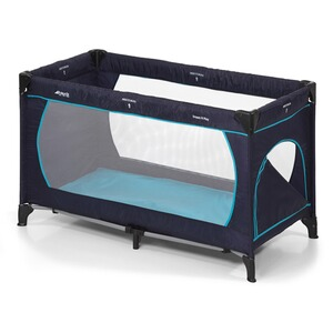 HAUCK  Reisebett Dream´n Play Plus  navy aqua