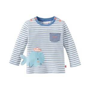 Bornino SEASIDE Shirt langarm Wal