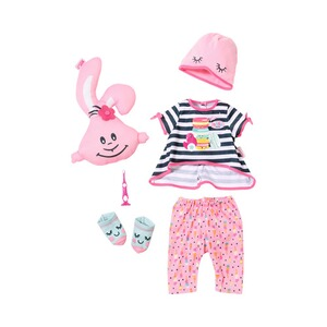 ZAPF BABY BORN Puppen Outfit Deluxe Übernachtungsparty