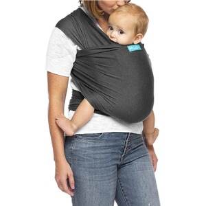 MOBY WRAP  Evolution Tragetuch, 550cm  Charcoal