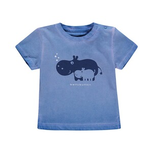 Bellybutton  T-Shirt Hippo Washed