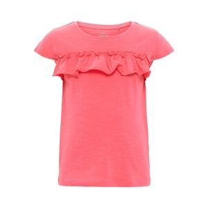 NAME IT  T-Shirt Rüsche  pink