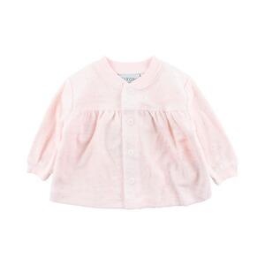 Outerwear 68 Sehr Gut Erhalten Girls' Clothing (newborn-5t) Reliable Süsse Pinke Jacke Von Lief Gr