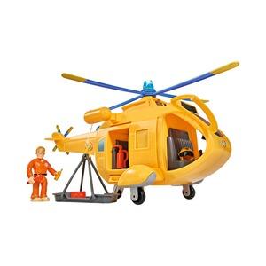 Feuerwehrmann SAM Rettungs Center mit Helikopter und Venus Feuerwehr Zabawki