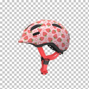 ABUSFahrradhelm Smiley 2.1  rose Strawberry 1