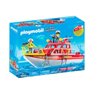 Playmobil® CITY ACTION 70147 Feuerlöschboot