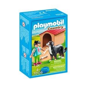Playmobil® COUNTRY 70136 Hofhund mit Hütte