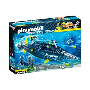 PLAYMOBIL® TOP AGENTS 70005 Team S.H.A.R.K. Drill Destroyer