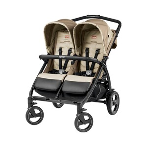 Peg Perego  Book For Two Zwillings- und Geschwisterwagen  Class Beige