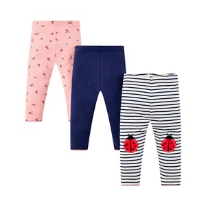 Mothercare  3er-Pack Leggings Marienkäfer
