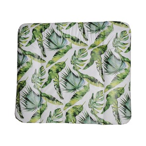 Rotho Babydesign  Wickelauflage Tropical leaf 72 x 85 cm