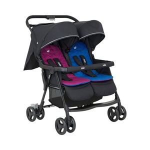 Joie  Aire Twin Zwillings- und Geschwisterbuggy  rosy & sea