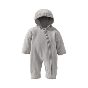Bornino BASICS Fleece-Overall mit Kapuze