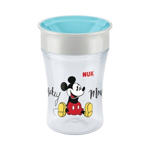 NUK  Trinklernbecher Magic Cup 230 ml  türkis/transparent