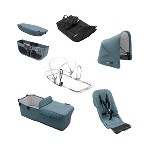 Bugaboo DONKEY² Style Set Track Collection inkl. Verdeck
