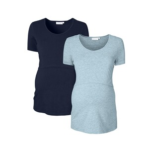 2hearts let´s get cozy 2er-Pack Umstands- und Still-T-Shirt