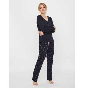 MAMALICIOUS®  Umstands- und Still-Pyjama Chillflower Lia Organic Cotton