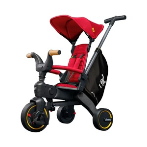 DoonaDreirad Liki Trike S5  Flame Red / rot 1