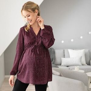 2hearts let´s get cozy Umstands- und Still-Bluse
