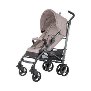Chicco  Lite Way³ Buggy mit Liegefunktion  dark beige
