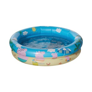 Happy People Peppa Pig Babypool mit aufblasbarem Boden Peppa Pig