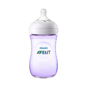 Philips Avent  Anti-Kolik-Weithals-Flasche Naturnah 2.0, SCF033/14, 260 ml, Kunststoff, ab 1M