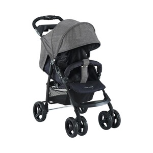 knorr-baby  V-Easy Fold Buggy mit Liegefunktion  grau