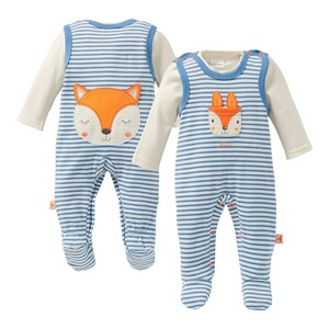 Bornino Fox & Gosling Strampler-Set Fuchs