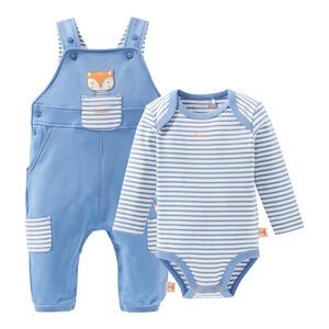 5-tlg Baby Kleidung Set Geschenkset Weiß Herz Gr 56 Erstlingspaket