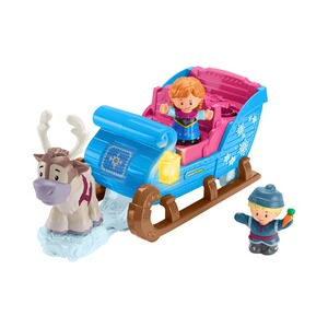 Fisher-Price DISNEY FROZEN Spielset Schlitten Frozen Little People