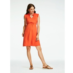 Queen Mum  Umstands-Kleid Dili  orange