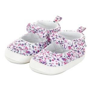 Baby Schuhe Mädchen Weiß 50 56 62 68 74 NEU Taufe Ballerinas Fest Babyschuhe