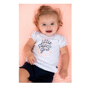 Feetje  T-Shirt Herzen Sailor girl