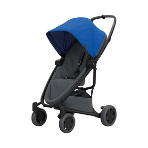 Quinny Premium Zapp Flex plus Buggy mit Liegefunktion  blue on graphite