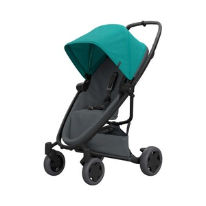 QuinnyPremiumZapp Flex plus Buggy mit Liegefunktion  green on graphite 1